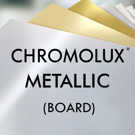 Chromolux® Metallic board