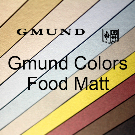 Gmund Colors Food Matt