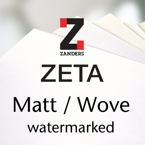ZETA Matt / Wove watermarked