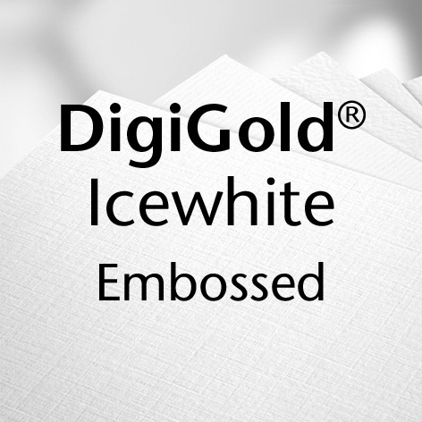 DigiGold® Icewhite Embossed