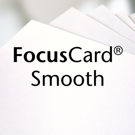 FocusCard® satiné (Opalin)