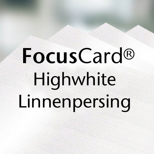FocusCard® Highwhite Linen