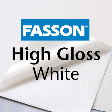 Fasson® High Gloss white