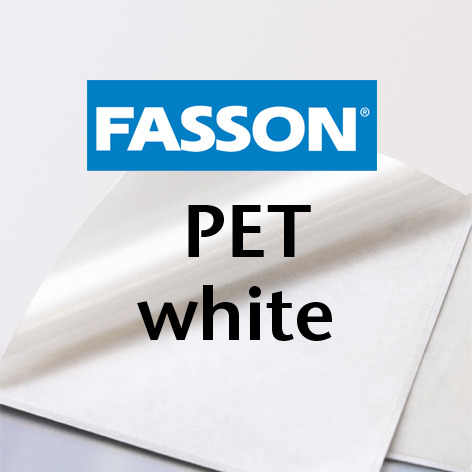 Fasson® DI PET White (Dry toner)