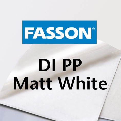 Fasson® DI PP Matt White