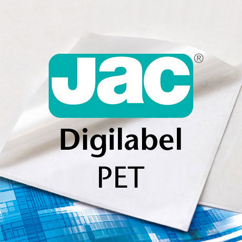 JAC® Digilabel PET white