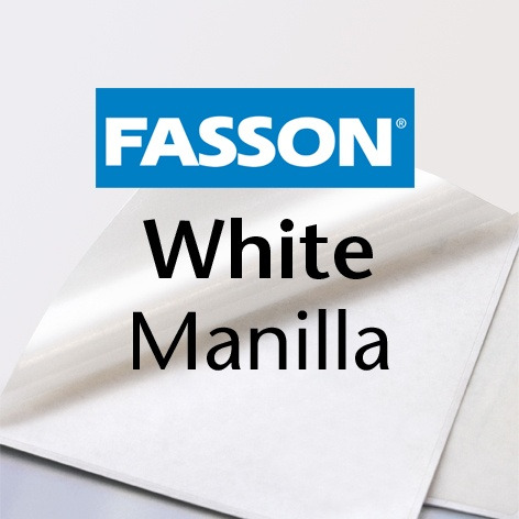 Fasson® White Manilla