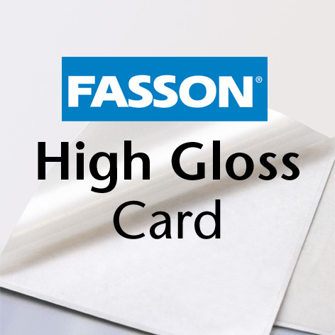 Fasson® High Gloss Card