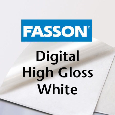 Fasson® DI High Gloss White