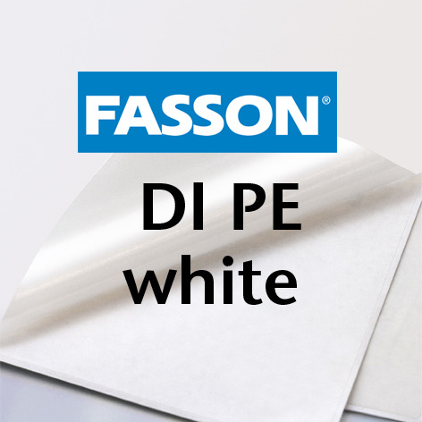 Fasson® DI PE white