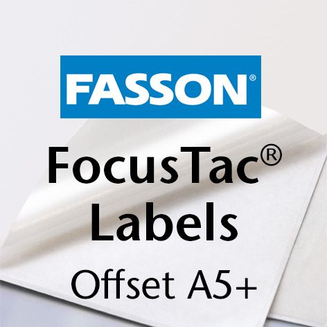 Fasson®/ FocusTac® Labels: Offset A5+