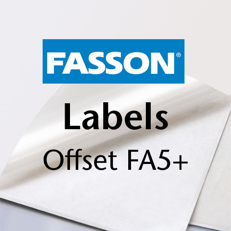 Fasson Labels Offset A5+