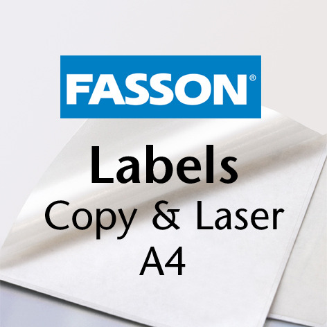 Fasson Labels Laser&Offset A4