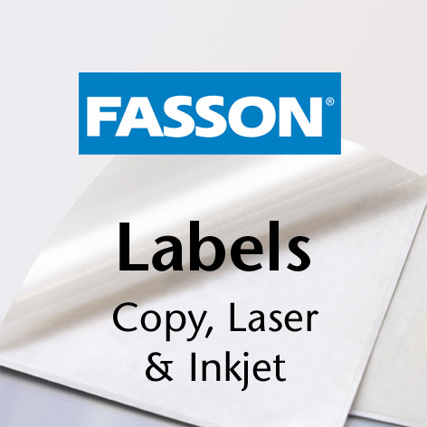 Fasson® Labels Copy, Laser et Jet d'encre