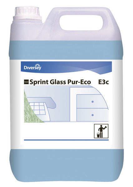 Glass- og vindusrengjøringsmiddel, Sprint Glass Pur-Eco