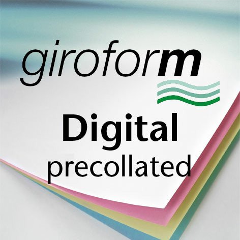 Giroform® Digital precollated