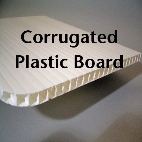 Corrugated Plastic Board