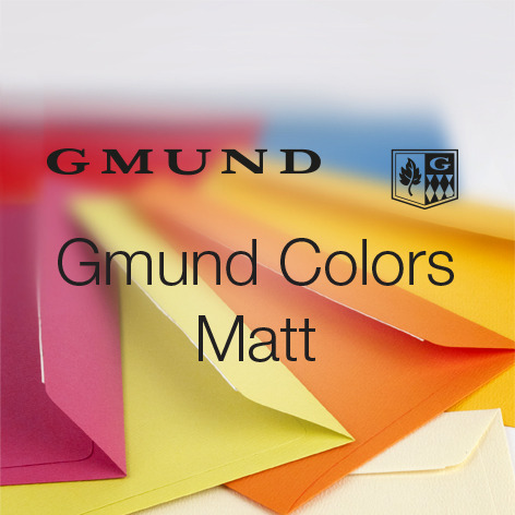 Gmund Colors Matt Kuverts
