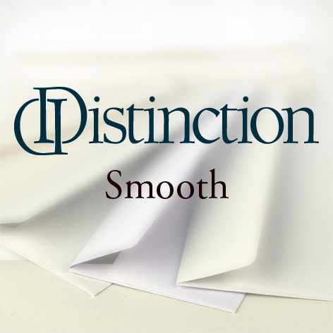 Distinction® Smooth Kuverts