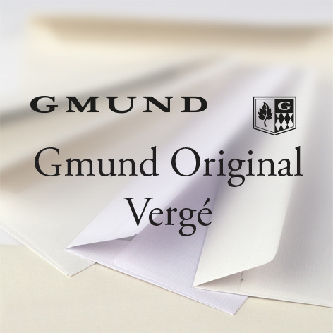 Gmund Original Vergé Kuverts