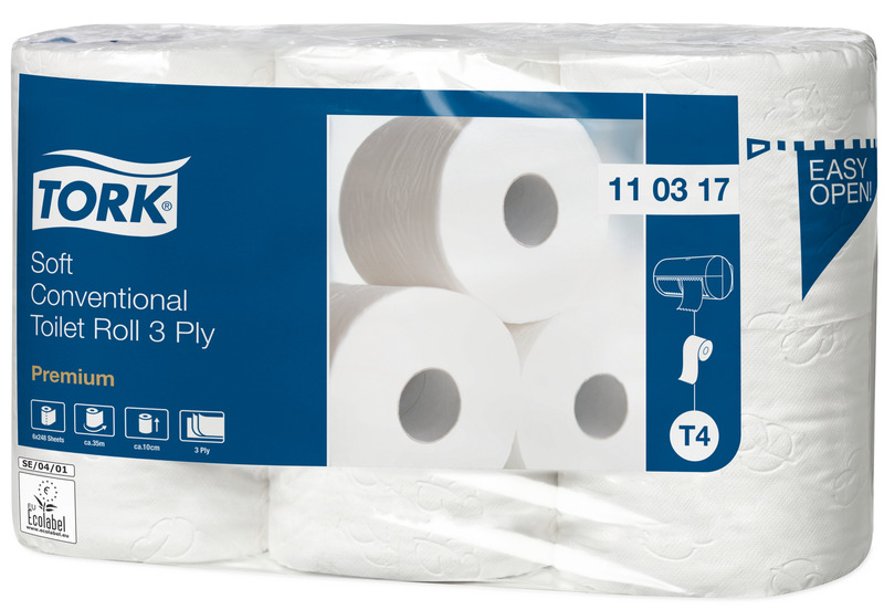 Papier toaletowy TORK Extra Soft T4