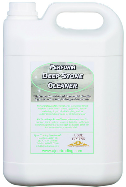 Stenpleje, Perform Deep Stone Cleaner
