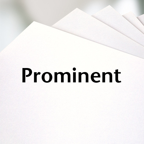 Prominent