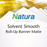 Natura Solvent Smooth Roll-Up Banner Matte