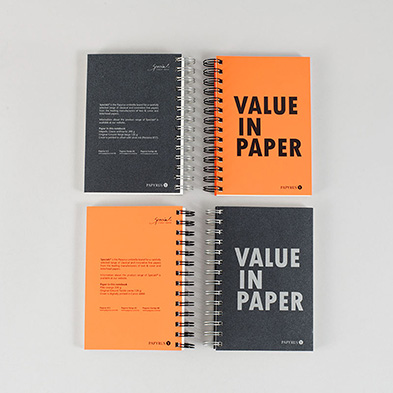 Notizbuch - Value in Paper