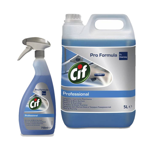 Płyn do mycia szyb CIF Professional Window & Multi Surface Cleaner