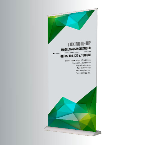 FocusDisplay® Roll-Up LUX