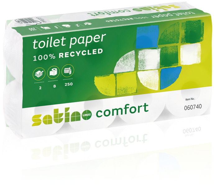 Satino by WEPA Comfort papier toilette 2 couches