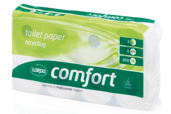 WEPA Comfort papier toilette 3 couches