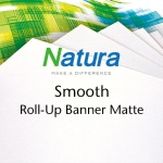 Natura Smooth Roll-Up Banner Matte